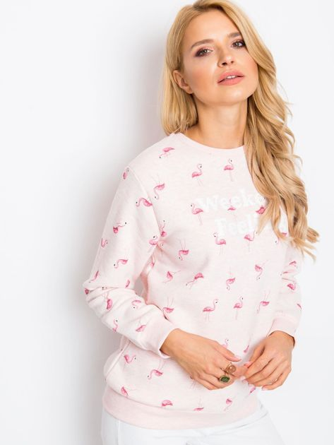 Różowa bluza Flamingoo                              zdj.                              5