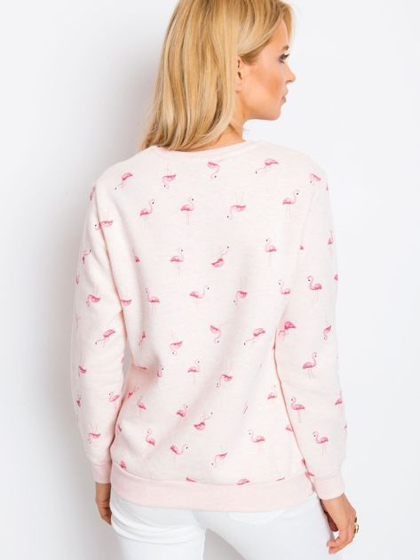 Różowa bluza Flamingoo                              zdj.                              2