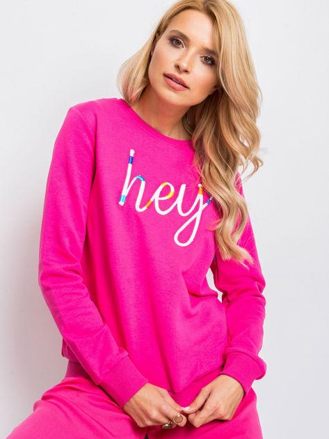 Różowa bluza Hey