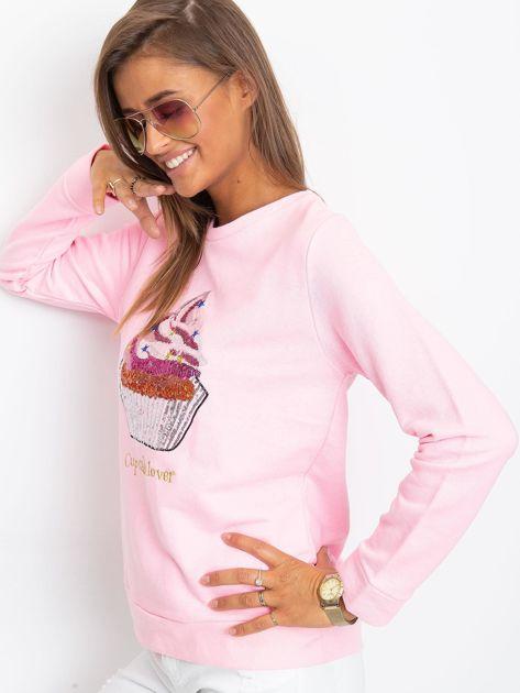 Różowa bluza Shaina                              zdj.                              3