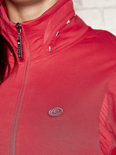 Różowa bluza sportowa fitness ze wstawkami                                  zdj.                                  4