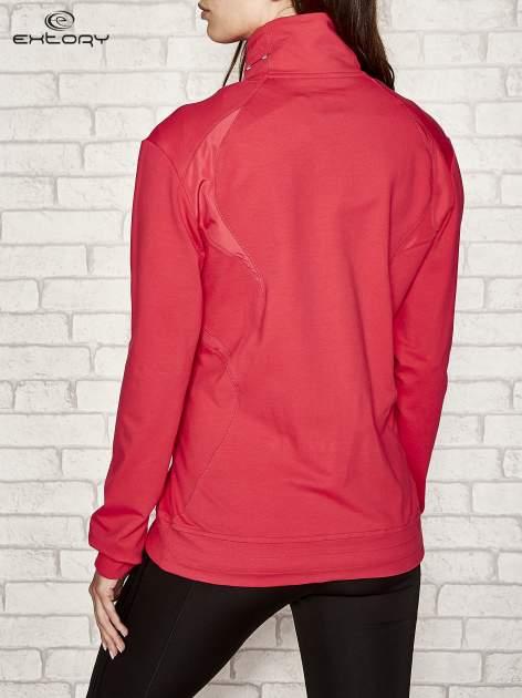 Różowa bluza sportowa fitness ze wstawkami                                  zdj.                                  3