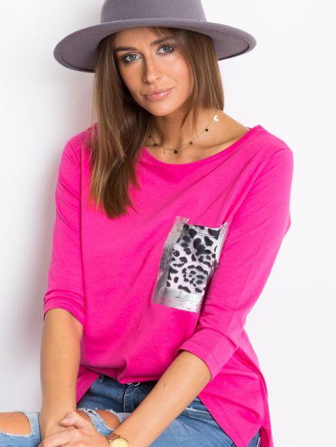 Różowa bluzka Purr