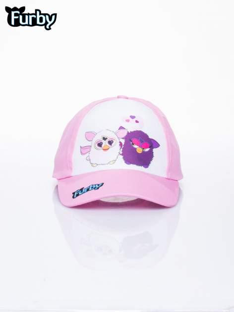 Różowa czapka z daszkiem dla dziewczynki FURBY                                  zdj.                                  1