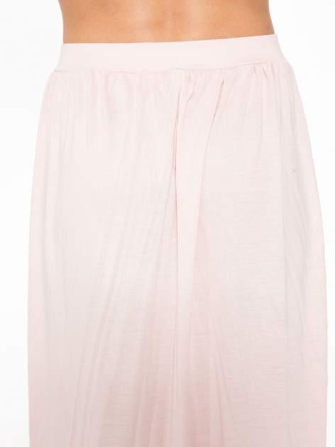 Różowa długa spódnica maxi                                  zdj.                                  6