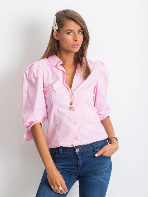 Różowa koszula Diva                              zdj.                              3