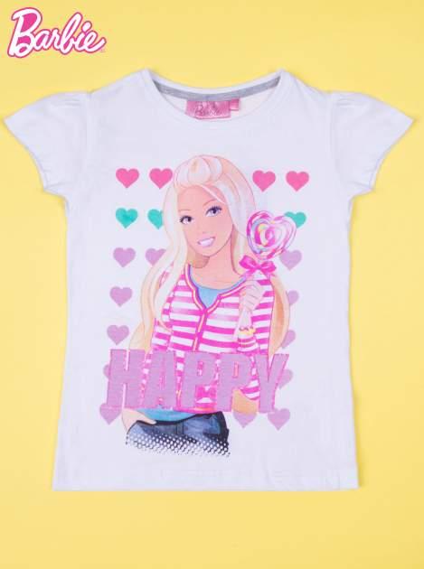 Różowa piżama dla dziewczynki BARBIE                                  zdj.                                  2