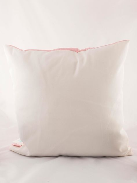 Różowa poduszka dekoracyjna z jednorożcem                              zdj.                              4