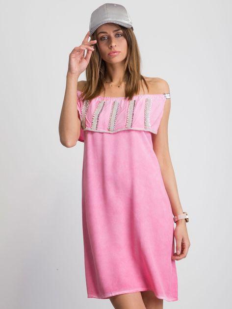 Różowa sukienka Coolest
