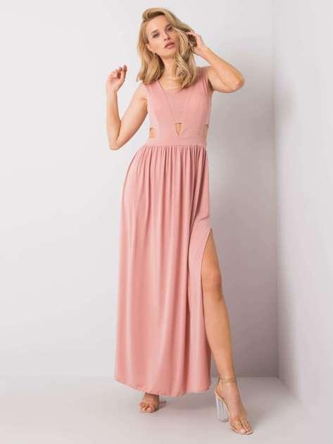 Różowa sukienka Halley