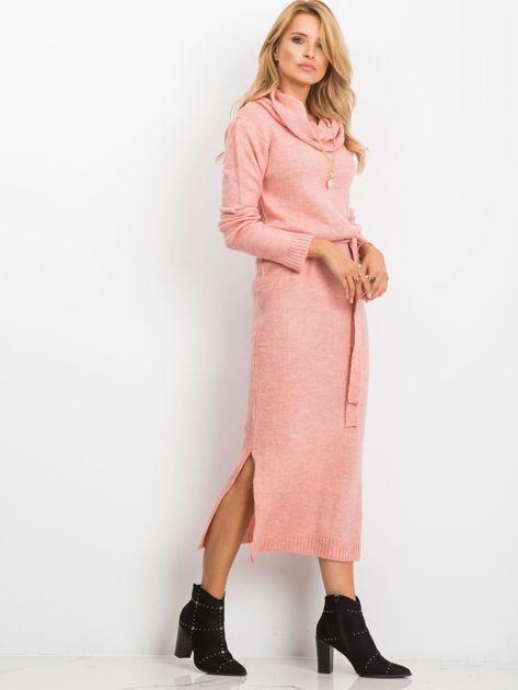 Różowa sukienka Peace                              zdj.                              5
