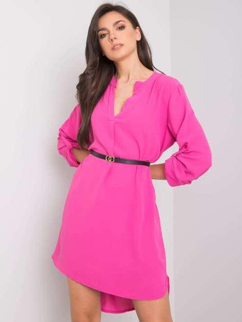 Różowa sukienka Stella