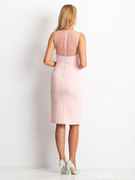 Różowa sukienka Vibes                              zdj.                              2