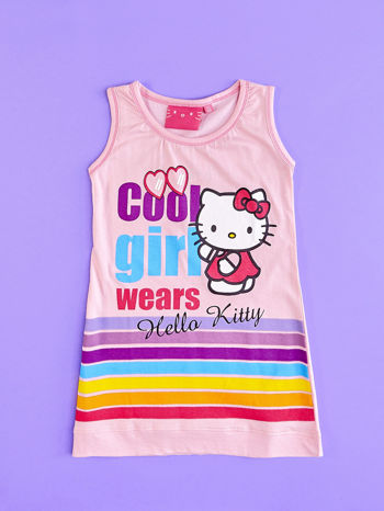 Różowa sukienka dla dziewczynki DORA POZNAJE ŚWIAT                                  zdj.                                  6