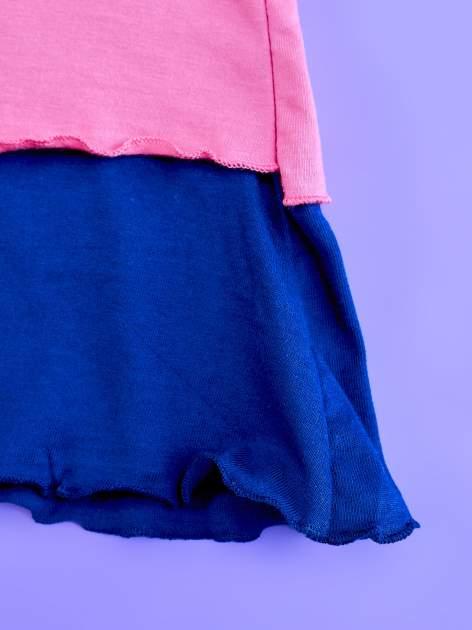 Różowa sukienka dla dziewczynki z kokardką i falbankami MY LITTLE PONY                                  zdj.                                  7