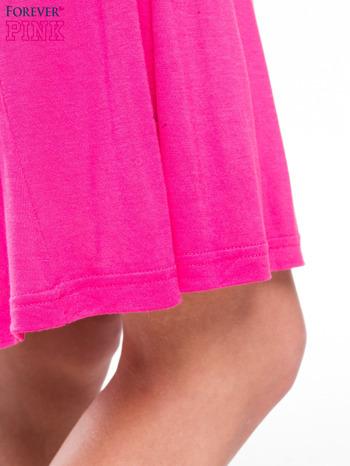 Różowa sukienka na ramiączka z efektem ombre                                  zdj.                                  7