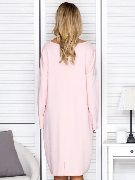 Różowa sukienka z gwiazdą                               zdj.                              2