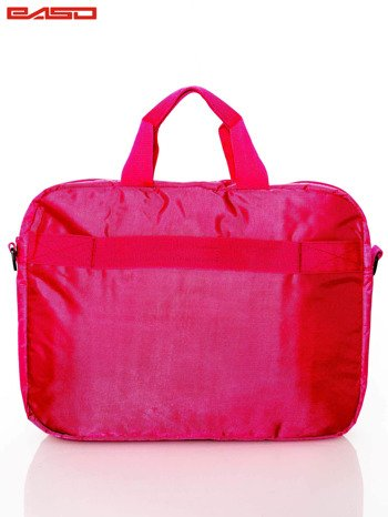 Różowa torba na laptopa                              zdj.                              3