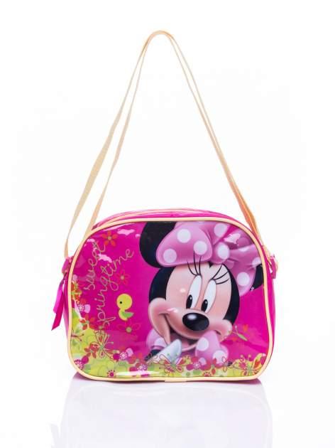 Różowa torba szkolna DISNEY Myszka Minnie                                  zdj.                                  1