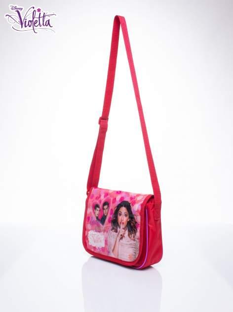 Różowa torba szkolna DISNEY Violetta                                  zdj.                                  2