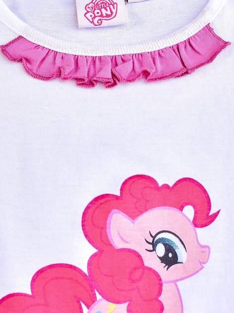 Różowa tunika dla dziewczynki z falbanką na dole MY LITTLE PONY                                  zdj.                                  3