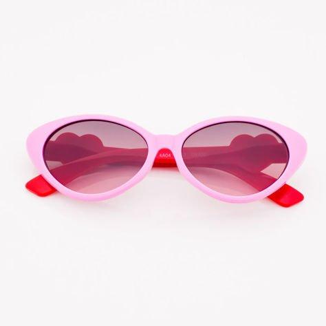 Różowe Dziecięce Okulary przeciwsłoneczne                              zdj.                              1