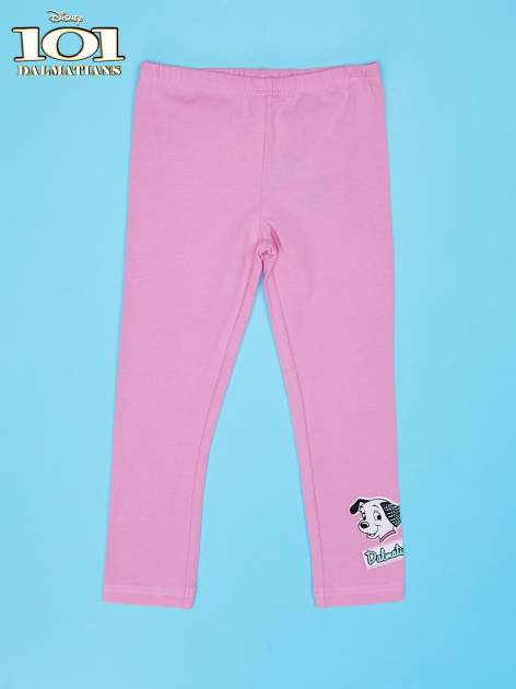 Różowe legginsy dla dziewczynki 101 DALMATYŃCZYKÓW                                  zdj.                                  1