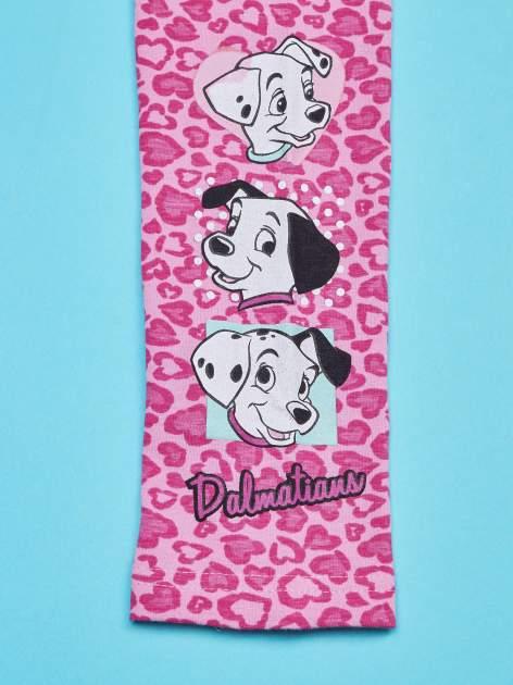 Różowe legginsy dla dziewczynki 101 DALMATYŃCZYKÓW                                  zdj.                                  4