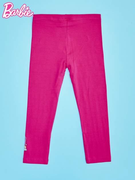 Różowe legginsy dla dziewczynki BARBIE                                  zdj.                                  2