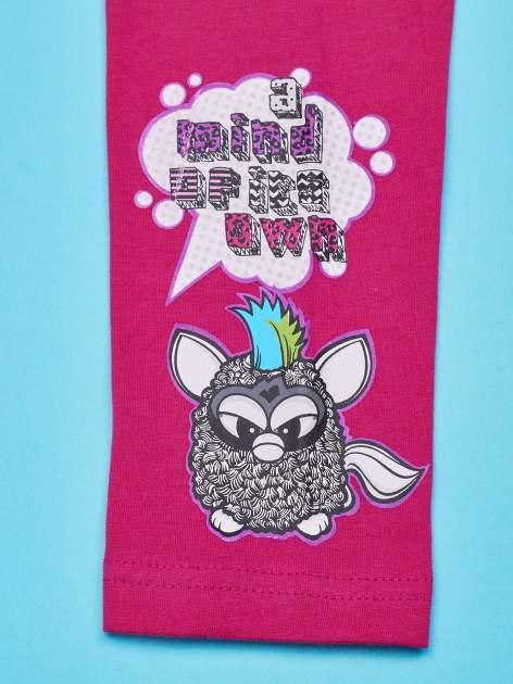 Różowe legginsy dla dziewczynki FURBY                                  zdj.                                  5