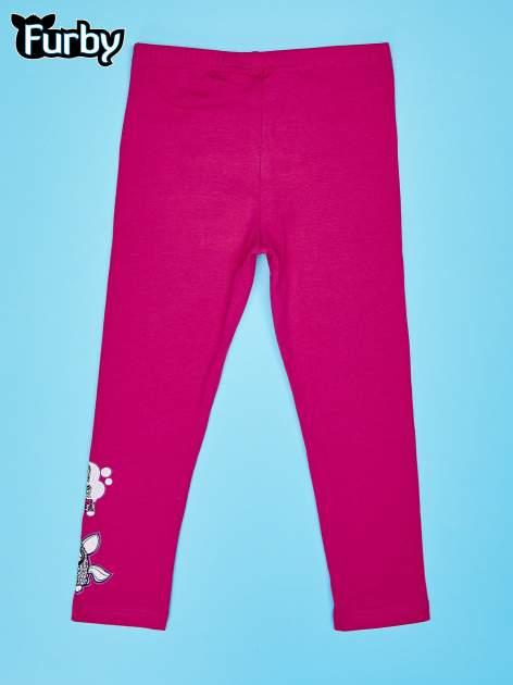Różowe legginsy dla dziewczynki FURBY                                  zdj.                                  2