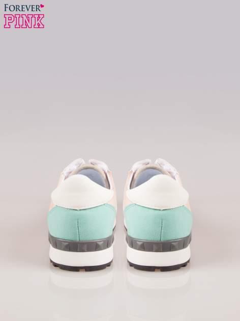 Różowe miejskie buty sportowe Love Affair                                  zdj.                                  3