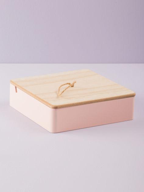 Różowe pudełko z lusterkiem                              zdj.                              4