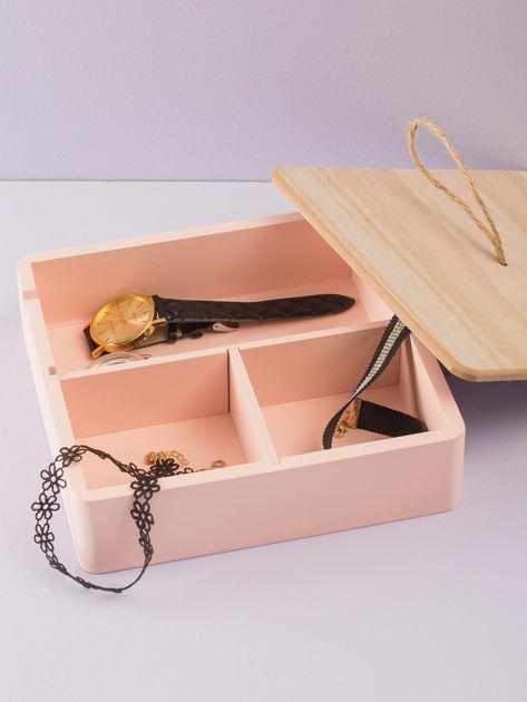 Różowe pudełko z lusterkiem                              zdj.                              2