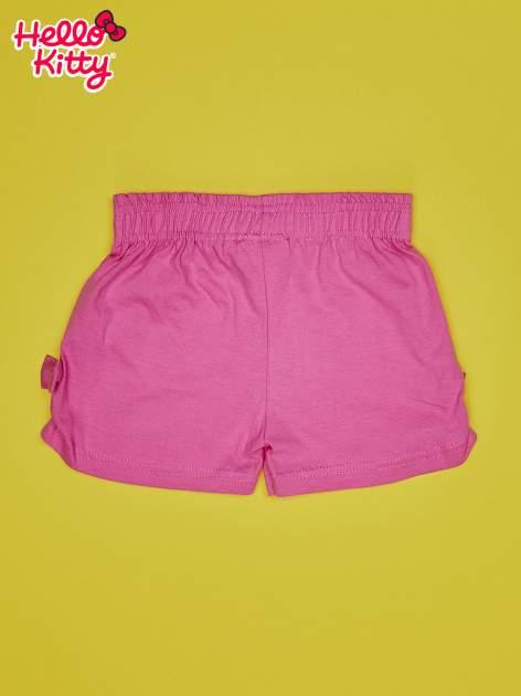 Różowe szorty dla dziewczynki HELLO KITTY                                  zdj.                                  2