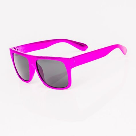 Różowofioletowe Dziecięce Okulary przeciwsłoneczne Z Metalicznym Połyskiem                              zdj.                              2