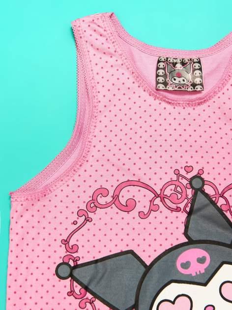 Różowy komplet do spania dla dziewczynki KUROMI                                  zdj.                                  7