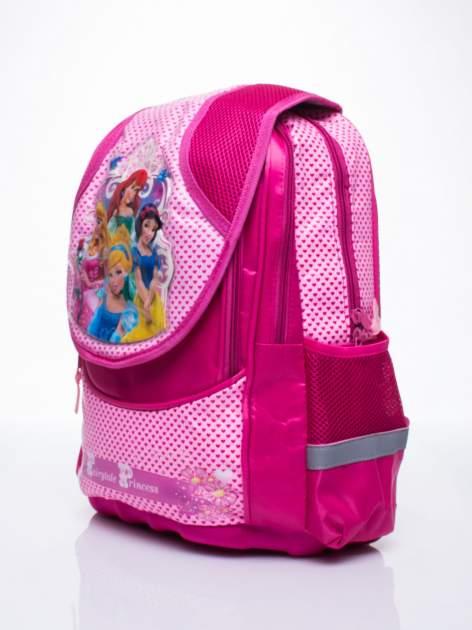 Różowy plecak dla dziewczynki DISNEY z księżniczkami                                  zdj.                                  2