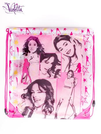 Różowy plecak worek DISNEY Violetta                                  zdj.                                  3