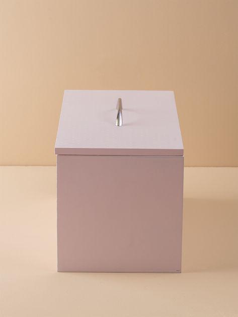 Różowy pojemnik na chleb                              zdj.                              3