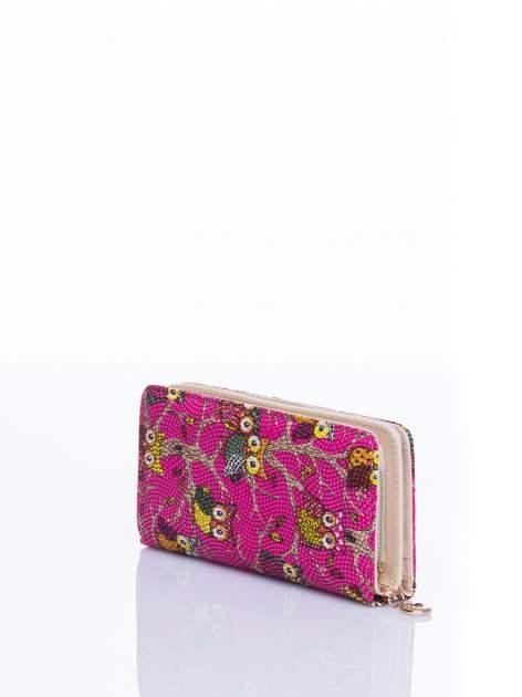 Różowy portfel w sówki                                  zdj.                                  2