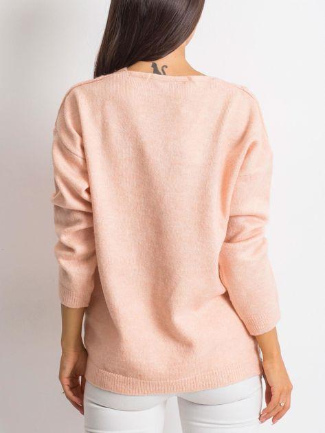 Różowy sweter World                              zdj.                              2