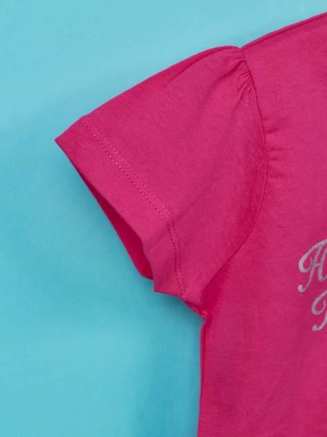 Różowy t-shirt dla dziewczynki HELLO KITTY                                  zdj.                                  6