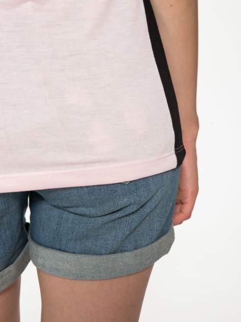 Różowy t-shirt z napisem TOGETHER IS MY FAVOURITE PLACE TO BE                                  zdj.                                  11