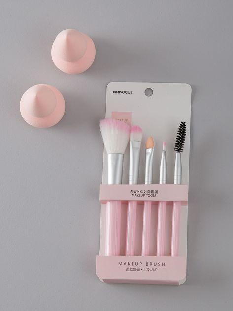 Różowy zestaw do makijażu                              zdj.                              2