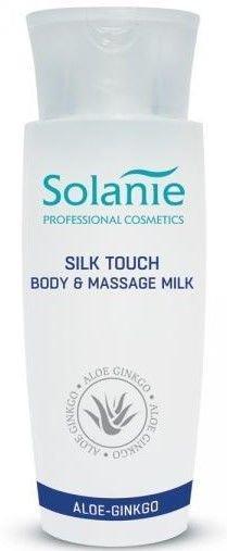SOLANIE Profesjonalne aksamitne mleczko do ciała i masażu 150 ml