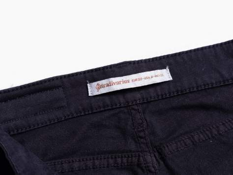 STRADIVARIUS Czarne spodnie skinny typu rurki                                  zdj.                                  3