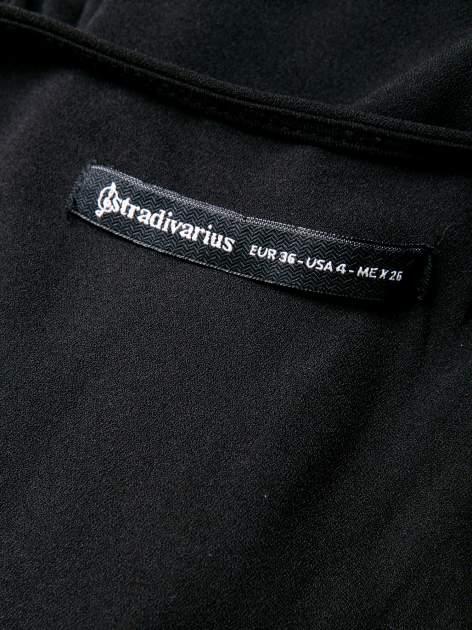 STRADIVARIUS Czarny kombinezon odkrywający plecy                                  zdj.                                  3
