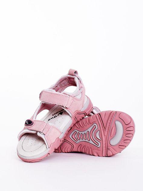 Sandały dziecięce różowe