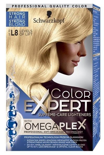 """Schwarzkopf Color Expert Krem - rozjaśniacz do włosów nr L8"""""""